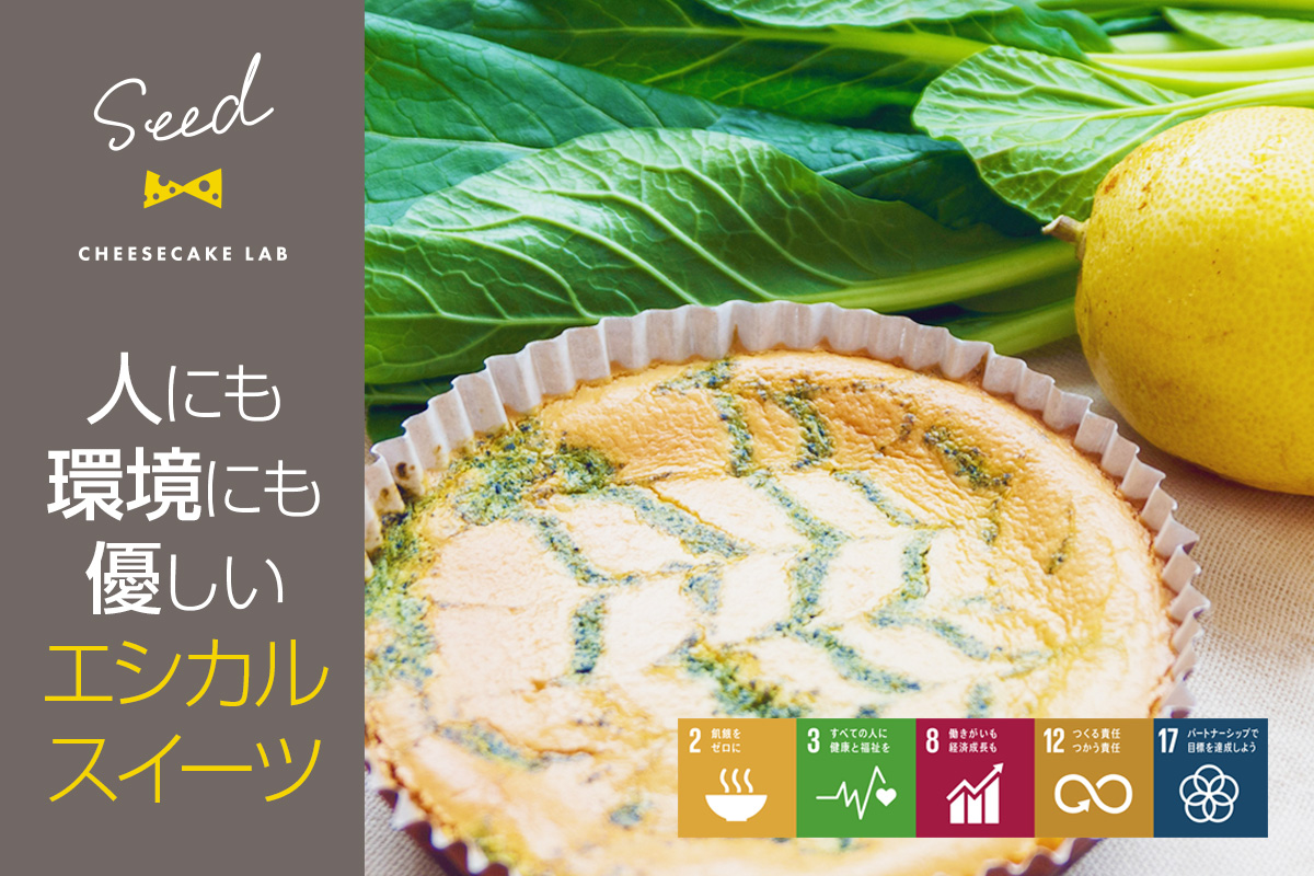 国産有機米の米粉と無農薬野菜を使ったチーズケーキで楽しく幸せなおやつタイムを